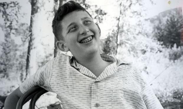 Irving Weissman as a teenager