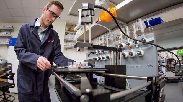 Biomolecule lab opens