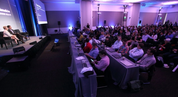Audience at the Big Data in Biomedicine Conference