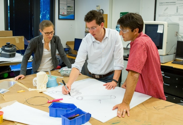 A team of fellows in Stanford's Biodesign Program