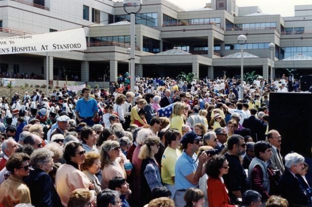 Opening of Packard Children's Hospital