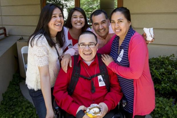 Edgar Arredondo and his family