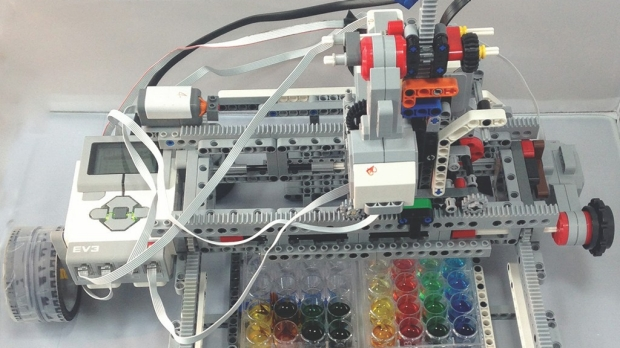 Adapted DIY robotics kit gives STEM students tools to automate biology experiments
