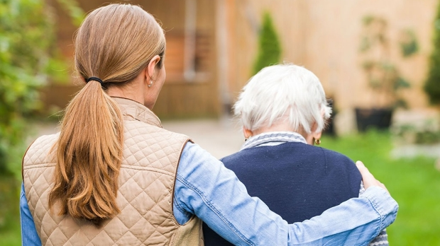 Dementia care falls mainly on women
