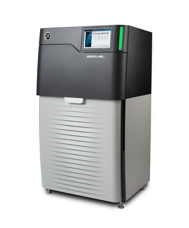 Machine used for long-read genome sequencing