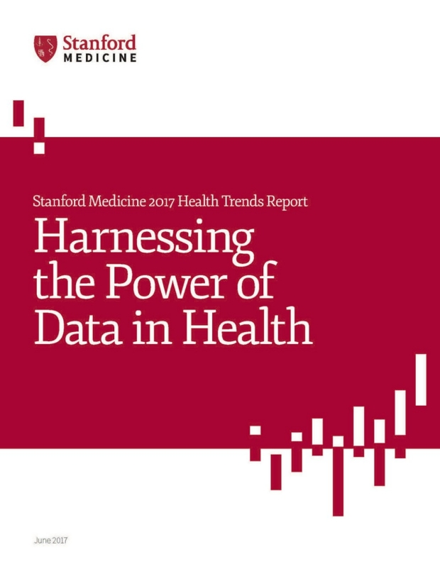 Cover of the Stanford Health Trends Report