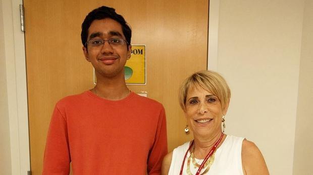 Working through pain toward success in school