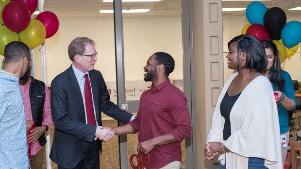 Diversity center for med school opens in Lane Library