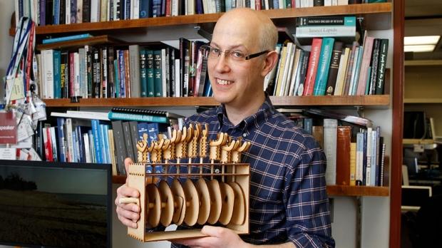 Schneider on disease and data sculptures