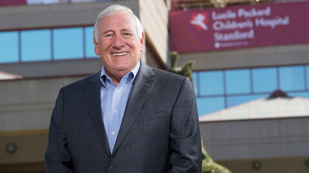 Christopher Dawes, president and CEO of Stanford Children's Health announces retirement