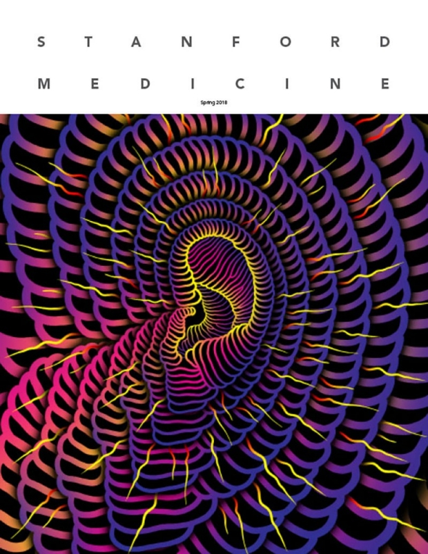 Stanford Medicine spring 2018 issue cover