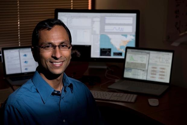 Sanjay Basu in his office