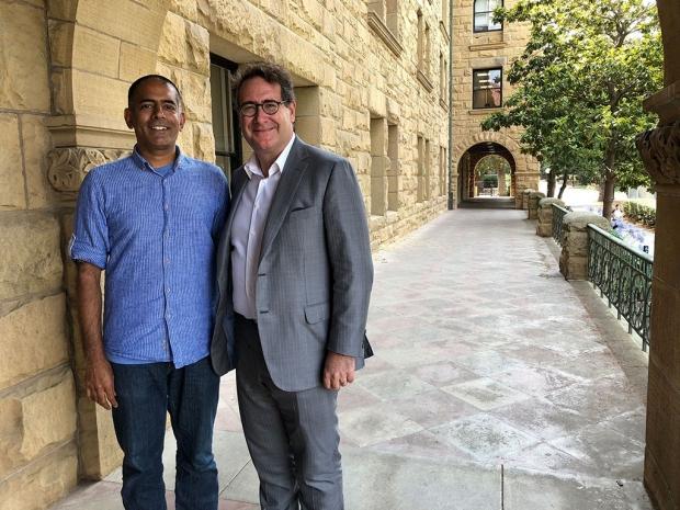 Prasanna Jagannathan and Ricardo Rosenkranz