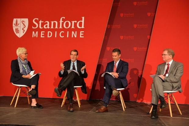 Panel featuring Leslee Subak, Denny Lund, David Entwistle and Lloyd Minor