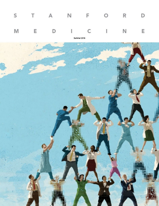 Cover of Stanford Medicine magazine