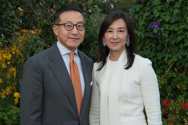 Joe Tsai and Clara Wu Tsai