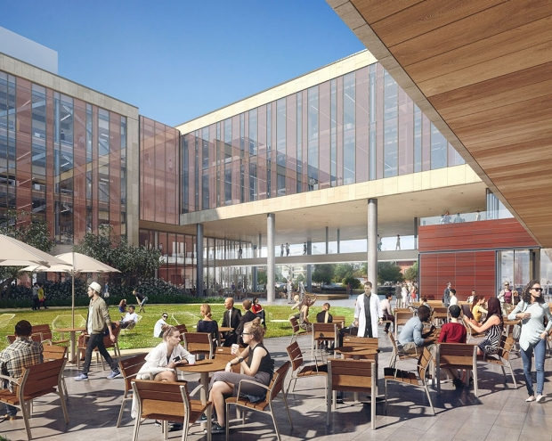Rendering of the Center for Academic Medicine
