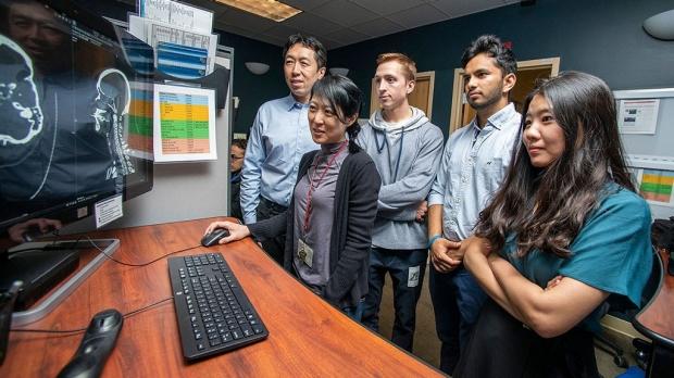 AI to help detect brain aneurysms