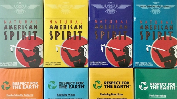 Marketing cigarettes as eco-friendly