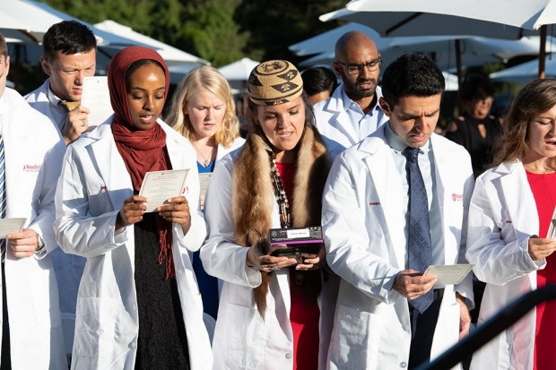 New Stanford medical students