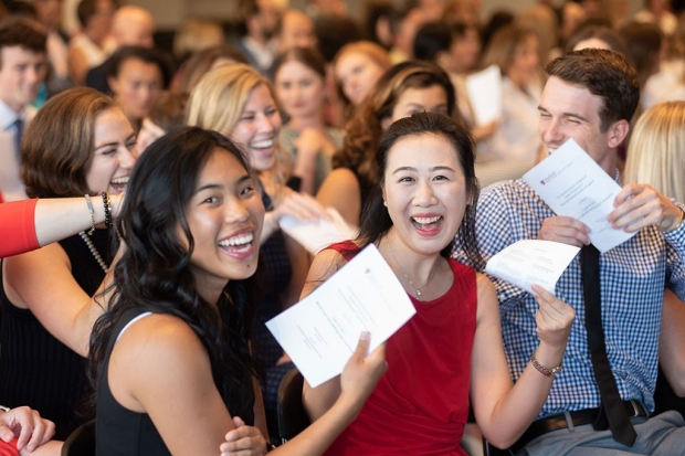 New physician assistant students at Stanford
