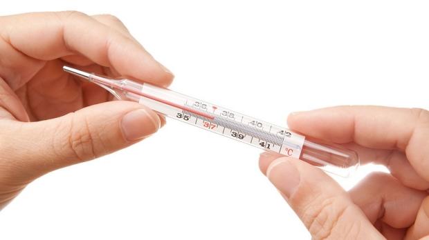 Body temperature decreasing