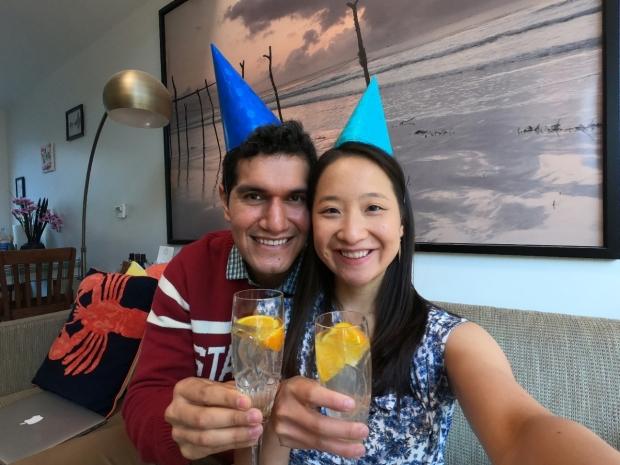 Victor Contreras and Kristie Hsu