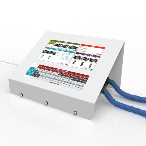 ventilator rendering