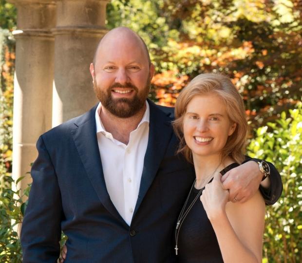 Marc Andreessen and Laura Arrillaga-Andreessen