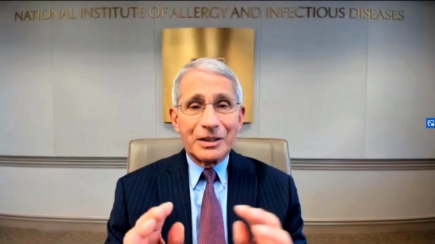 Anthony Fauci talks COVID-19 with dean