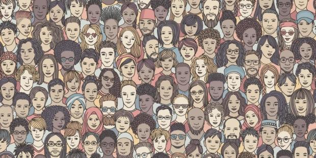 diverse faces