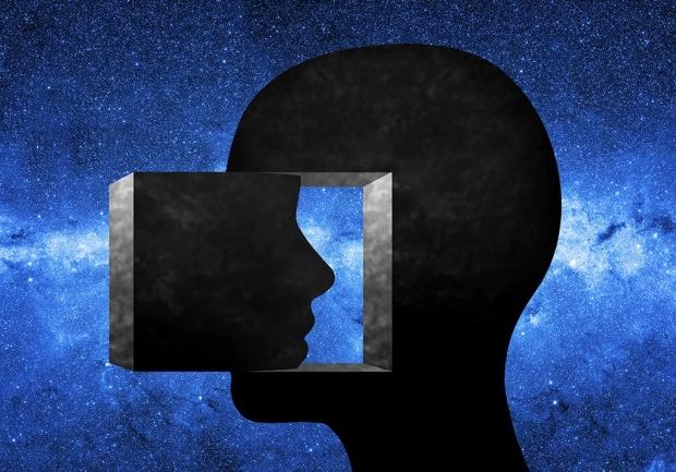conceptual illustration of dissociation
