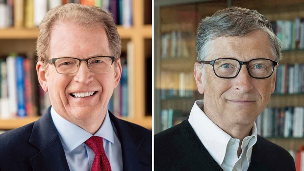 Gates, Minor discuss global pandemic