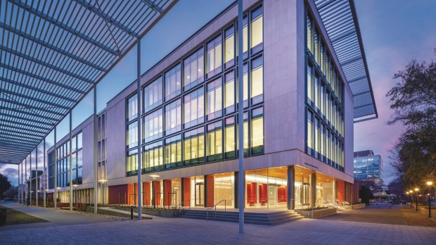 Biomedical Innovations building dedicated