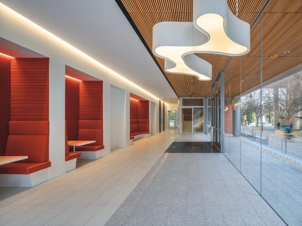 Interior of Biomedical Innovations Building