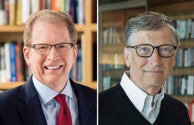 Lloyd Minor and Bill Gates
