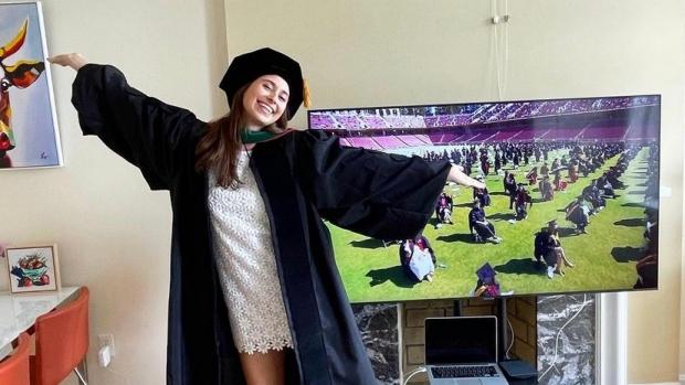 Graduates mark a momentous year