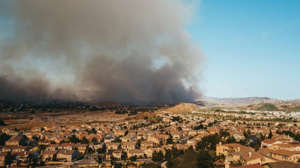 Wildfires and school ventilation