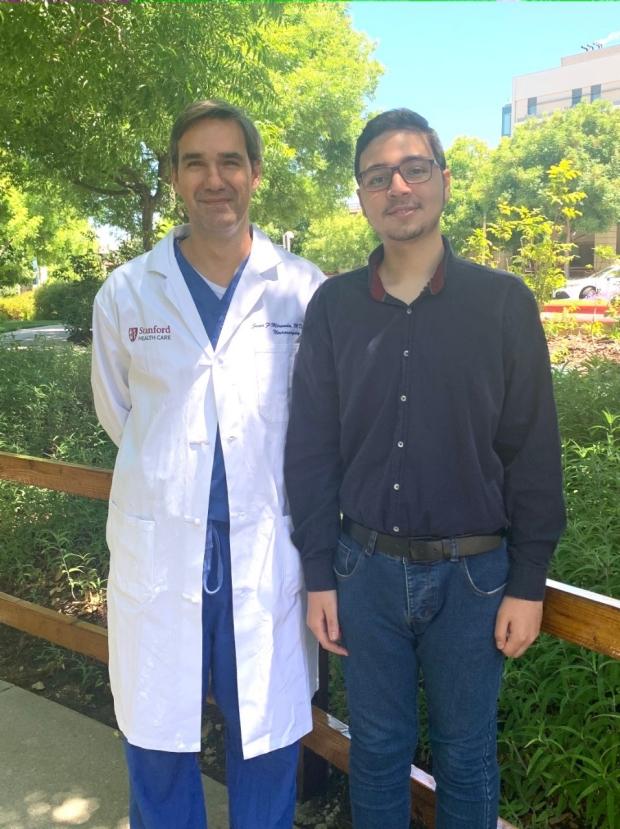 Juan Fernandez-Miranda and Ali Daoud