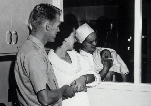 First baby born at Valley Memorial Hospital was Tommy 1961 Baker in