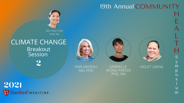 19th Annual Community Health Symposium | Breakout 2-Climate Change