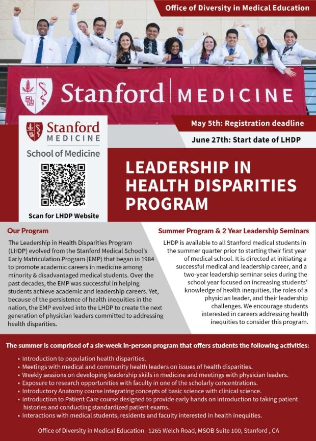 LHDP Flyer