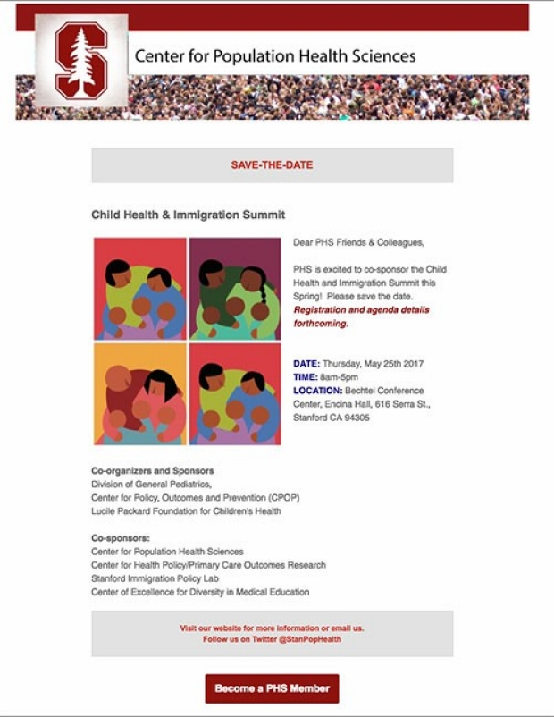 The Child Health and Immigration Summit