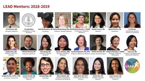 LEAD Mentors 2018-19