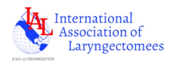 International Association of Laryngectomees logo