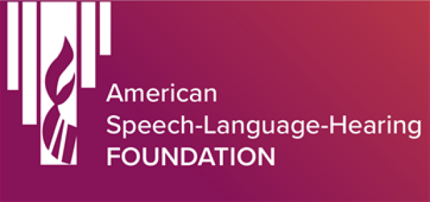 American Speech Language Hearing Foundation logo