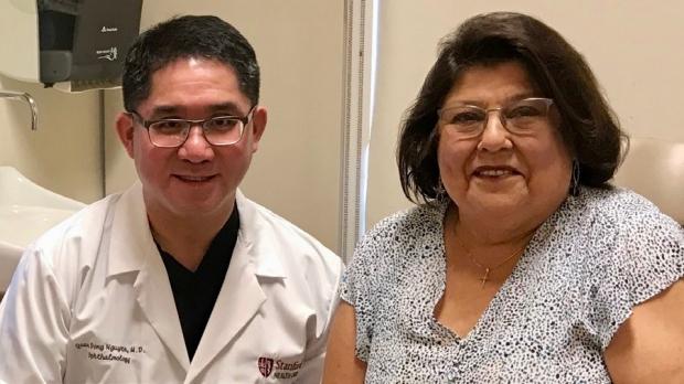 Cross-department team effort conquers rare inflammatory eye disease