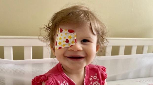 Young patients receive sight restoring lenses