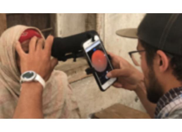 Village Eye Health Screening in Nepal