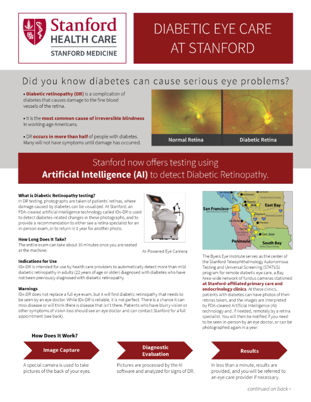 Diabetic Eye Care at Stanford